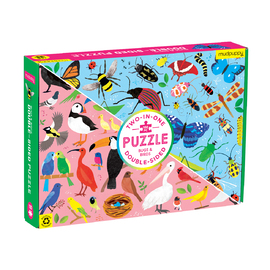 Mudpuppy Bugs & Birds 100pc Double-sided Jigsaw Puzzle