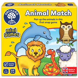 Orchard Toys Animal Match Snap - Mini Game
