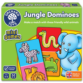 Orchard Toys Jungle Dominos - Mini Game