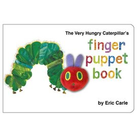 The Very Hungry Caterpillar | Finger Puppet Book | Chunky Board Book