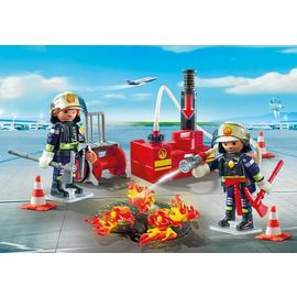 Playmobil City Action - Firefighting Operation with Water Pump