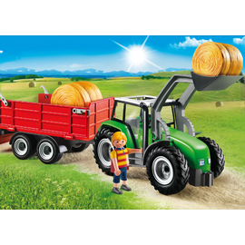 Playmobil Country - Large Tractor with Trailer