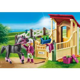 Playmobil Country - Horse Stable with Arabian Horse