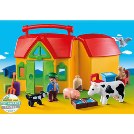 Playmobil 1.2.3 | My Take Along Farm