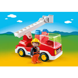 Playmobil 1.2.3 | Ladder Unit Fire Truck