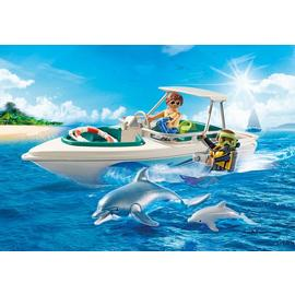 Playmobil Family Fun | Diving Trip with Speedboat