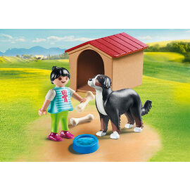 Playmobil Country - Dog with Doghouse