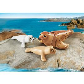 Playmobil - Seal with Pups