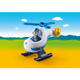 Playmobil 1.2.3. | Police Copter