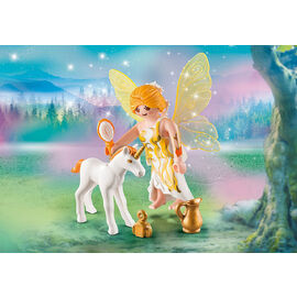 Playmobil Special PLUS | Sun Fairy with Unicorn Foal