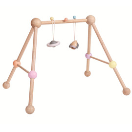PlanToys - Wooden Play Gym | Pastel