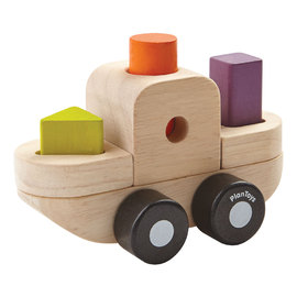 Plan Toys - Sorting Puzzle Boat