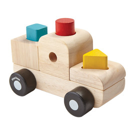 Plan Toys - Sorting Puzzle Truck