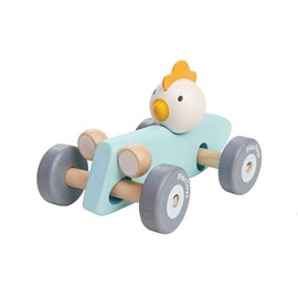 PlanToys - Chicken Racing Car | Wooden Eco Toy