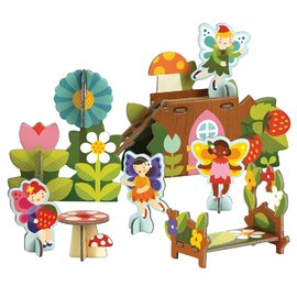 Petit Collage - Pop Out & Build Fairies Play Set