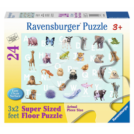 Ravensburger - Animal Alphabet Super-Size Floor Jigsaw Puzzle
