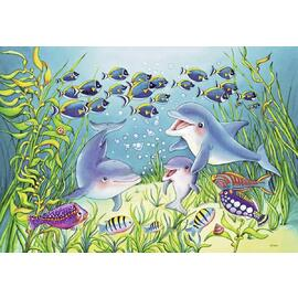Ravensburger On the Seabed Jigsaw Puzzle 2x12pc