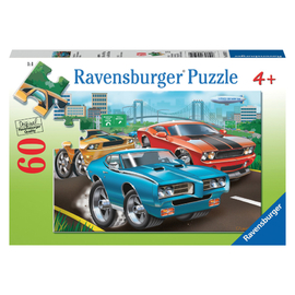 Ravensburger - Muscle Cars Jigsaw Puzzle 60pc