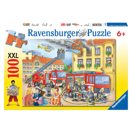 Ravensburger Fire Brigade Jigsaw Puzzle 100pc