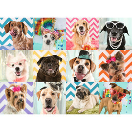 Ravensburger - Doggy Disguise Jigsaw Puzzle 100pc