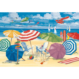 Ravensburger - At the Beach Jigsaw Puzzle 300pc Large Piece