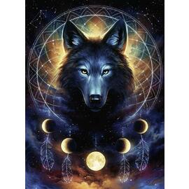 Ravensburger Lunar Wolf 500pc Adult Jigsaw Puzzle