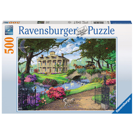 Ravensburger - Visiting the Mansion 500pc Jigsaw Puzzle