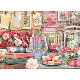 Ravensburger - Vintage Tea Party Jigsaw Puzzle 500pc