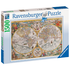 Ravensburger - Historical Map jigsaw Puzzle 1500pc