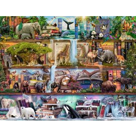 Ravensburger Wild Animal Kingdom by Aimee Stewart 2000pc Jigsaw Puzzle