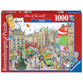 Ravensburger - Fleroux London Piccadilly Circus 1000pc Jigsaw Puzzle