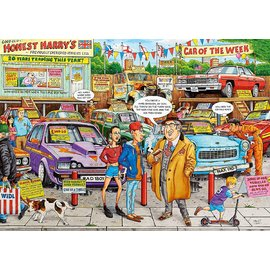 Ravensburger Best of British No. 18 - Used Car Lot Jigsaw Puzzle 1000pc