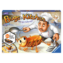 Ravensburger Bugs In The Kitchen Board Game with HEXBUG Nano