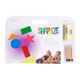 Shapeeze A4 Activity Pad 3-6 Years