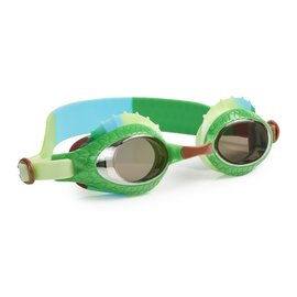Bling2o Swim Goggles - Larry The Lizard | Camo Olive Green