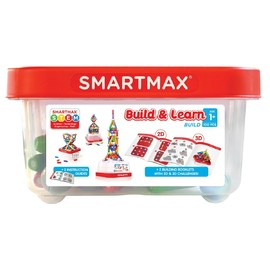 SmartMax Build and Learn 100 Piece Magnetic Construction Kit
