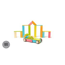 Tegu Tints 42pc | Magnetic Wooden Blocks