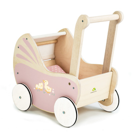 Tender Leaf Toys - Sweetiepie Dolly Pram | Wooden Dolls Pram