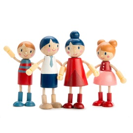 Tender Leaf Doll Family | Wooden Doll Set