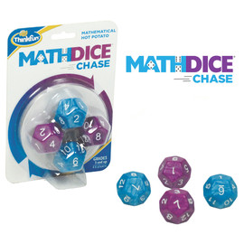 ThinkFun - Math Dice Chase Game