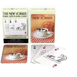The New York Puzzle Company | Cat Cartoons Playing Cards