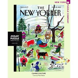 The New York Puzzle Company | New Yorker Canine Couture 1000pc Jigsaw Puzzle
