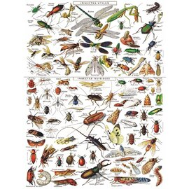 The New York Puzzle Company | Insects 1000pc Jigsaw Puzzle
