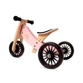Kinderfeets Tiny Tot PLUS 2 in 1 Tricycle & Balance Bike | ROSE