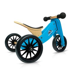 Kinderfeets Tiny Tot 2 in 1 Tricycle & Balance Bike | BLUE