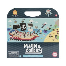 Tiger Tribe Magna Carry­ - Pirate Adventure Fold Out Magnetic Playbook