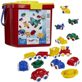Viking Toys - Chubbies Toy Bucket 15pc Set