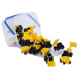 Viking Toys - Mini Chubbies Construction Bucket 20pc Set