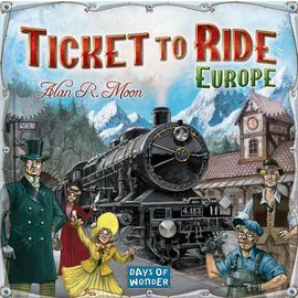 Days of Wonder - Ticket to Ride Europe Edition Board Game