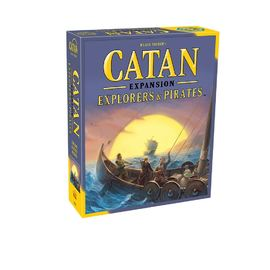 Catan - Explorers & Pirates Expansion | Board Game Expansion Pack